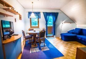 Modri apartma